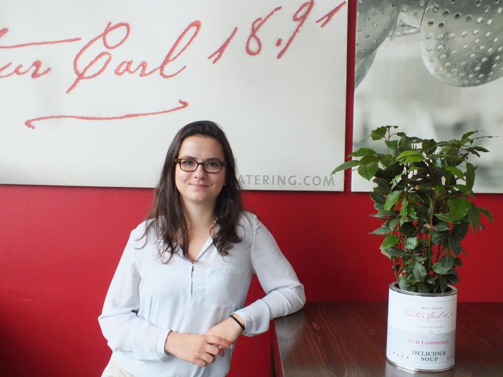 Elise aus Frankreich vom Austauschprogramm Broich