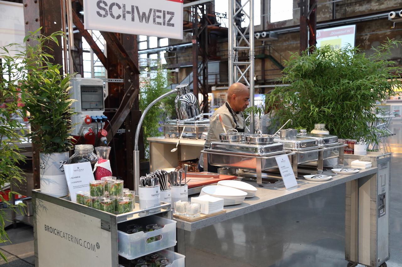 Catering auf der Düsseldorf IN