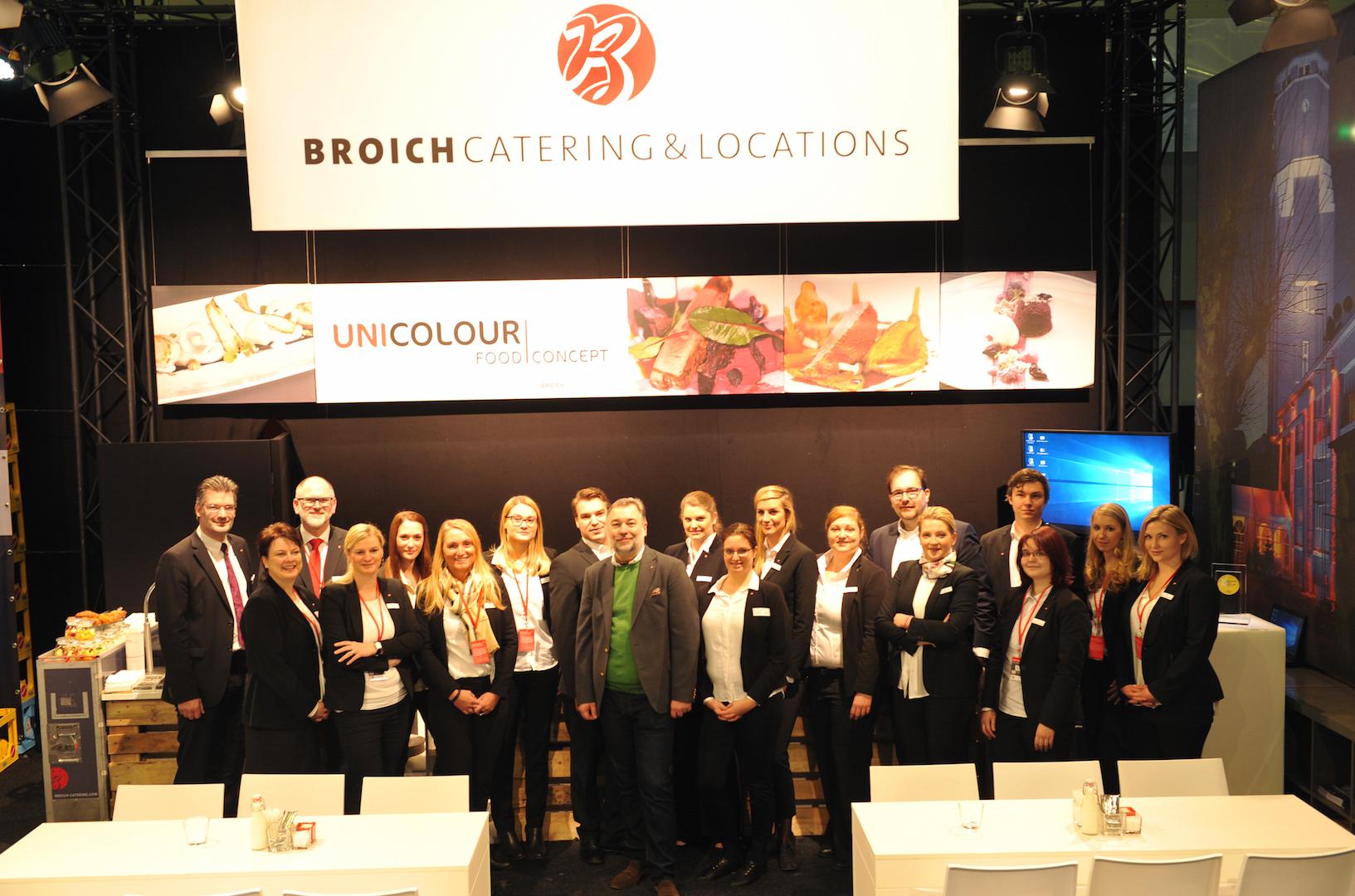 Team von Broich auf der Best of Events Messe