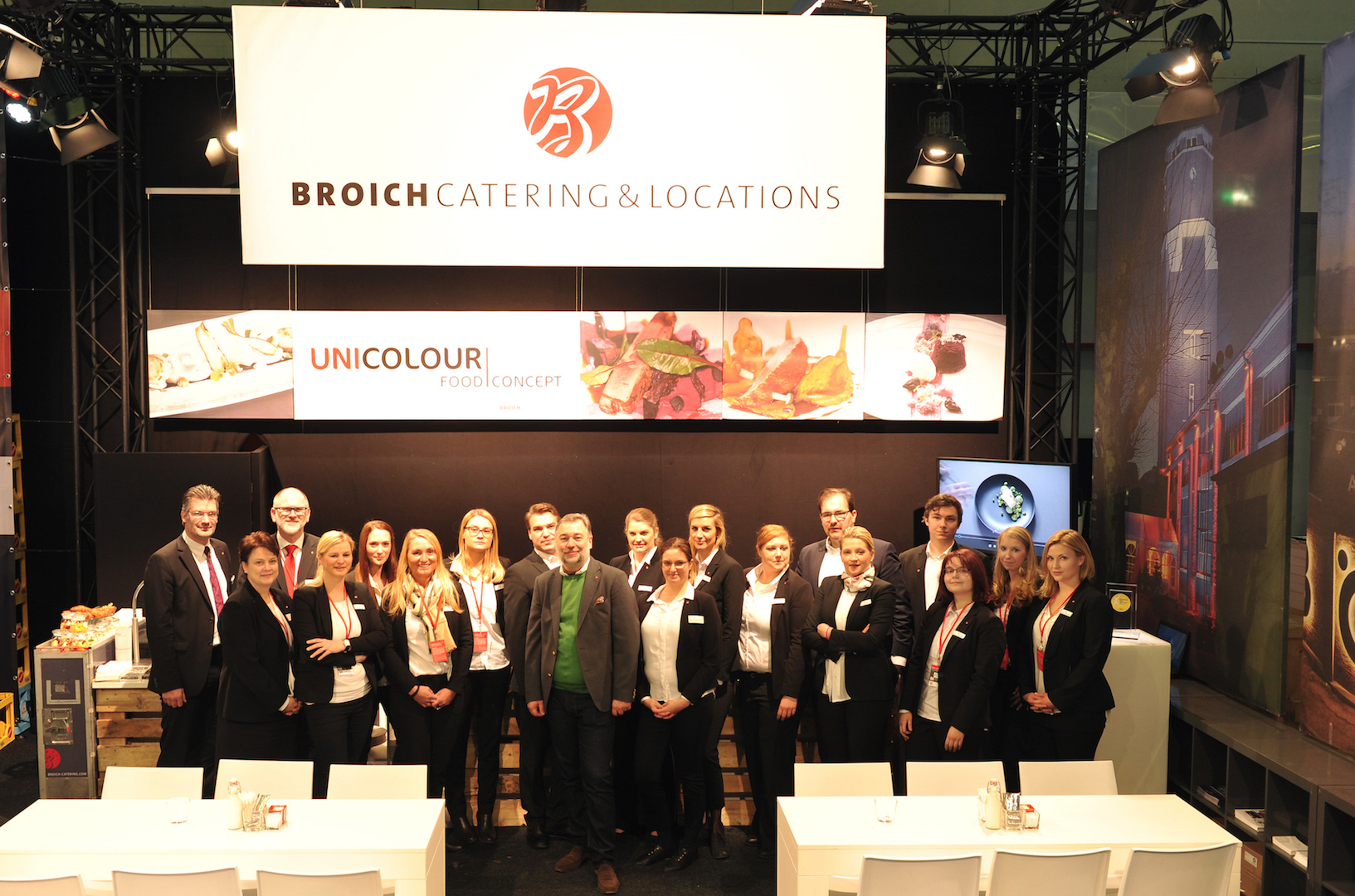 Broich Catering & Locations Veranstaltung 2016 Messe BOE 2016