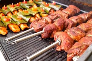 Broich Catering - Locations Veranstaltungen 2016 Sommerfest Broich_grill-spiesse