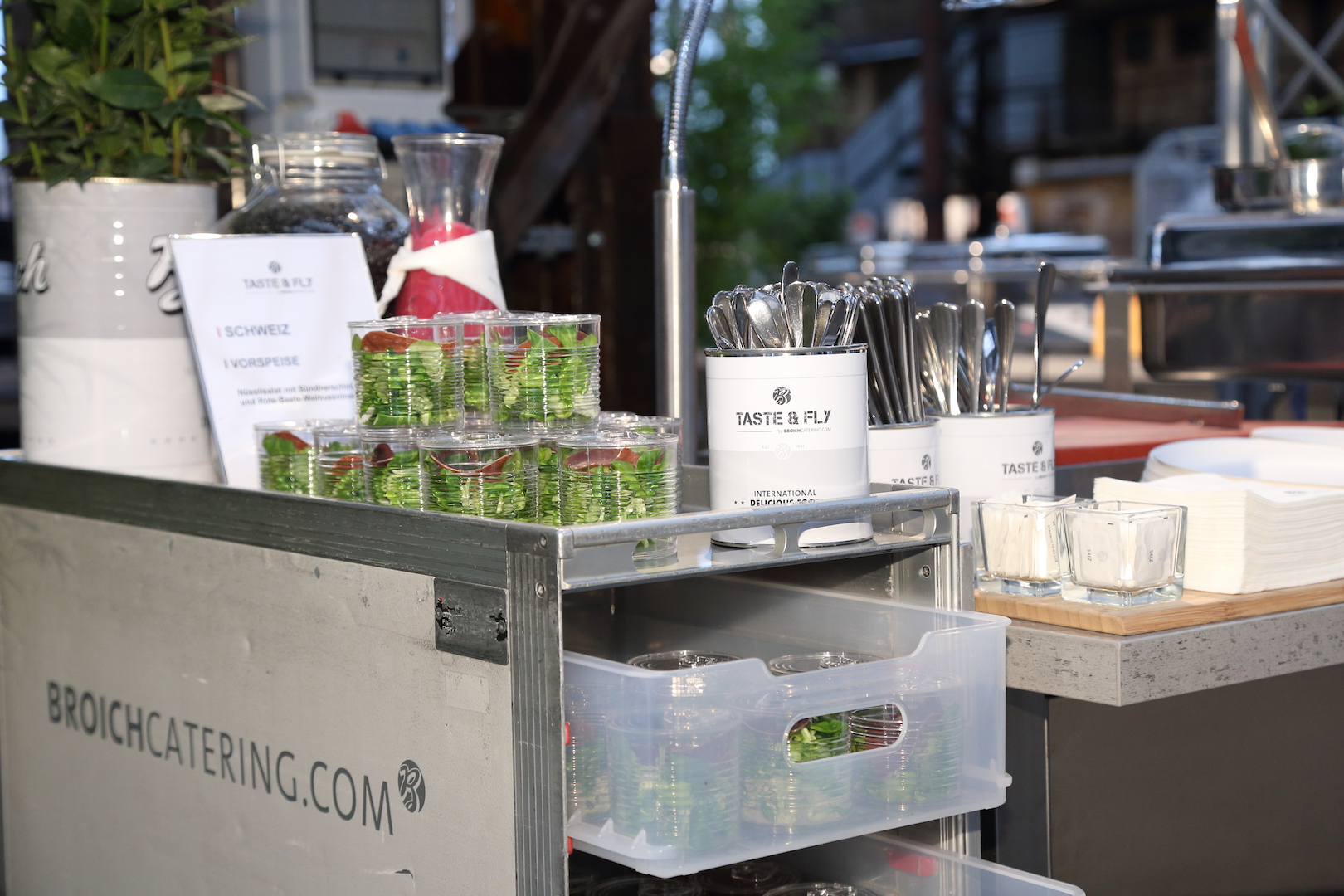 Broich Catering Locations_Taste and fly_event-catering-foodkonzept_foodstation