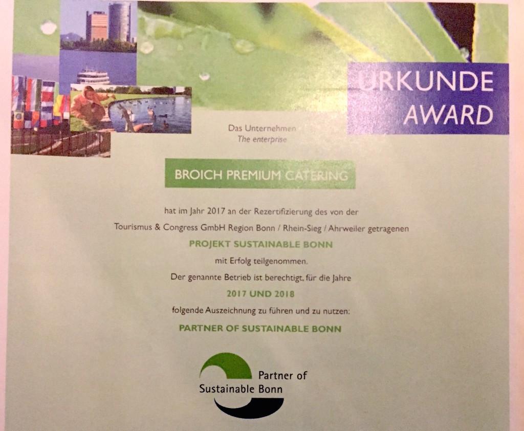 Urkunde_Sustainable_Bonn