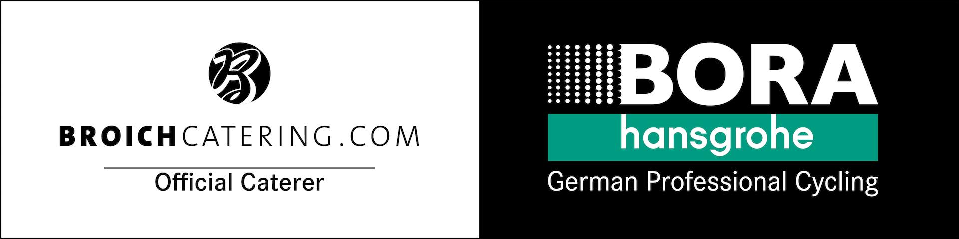 Logo bora-hansgrohe und BROICH caterin