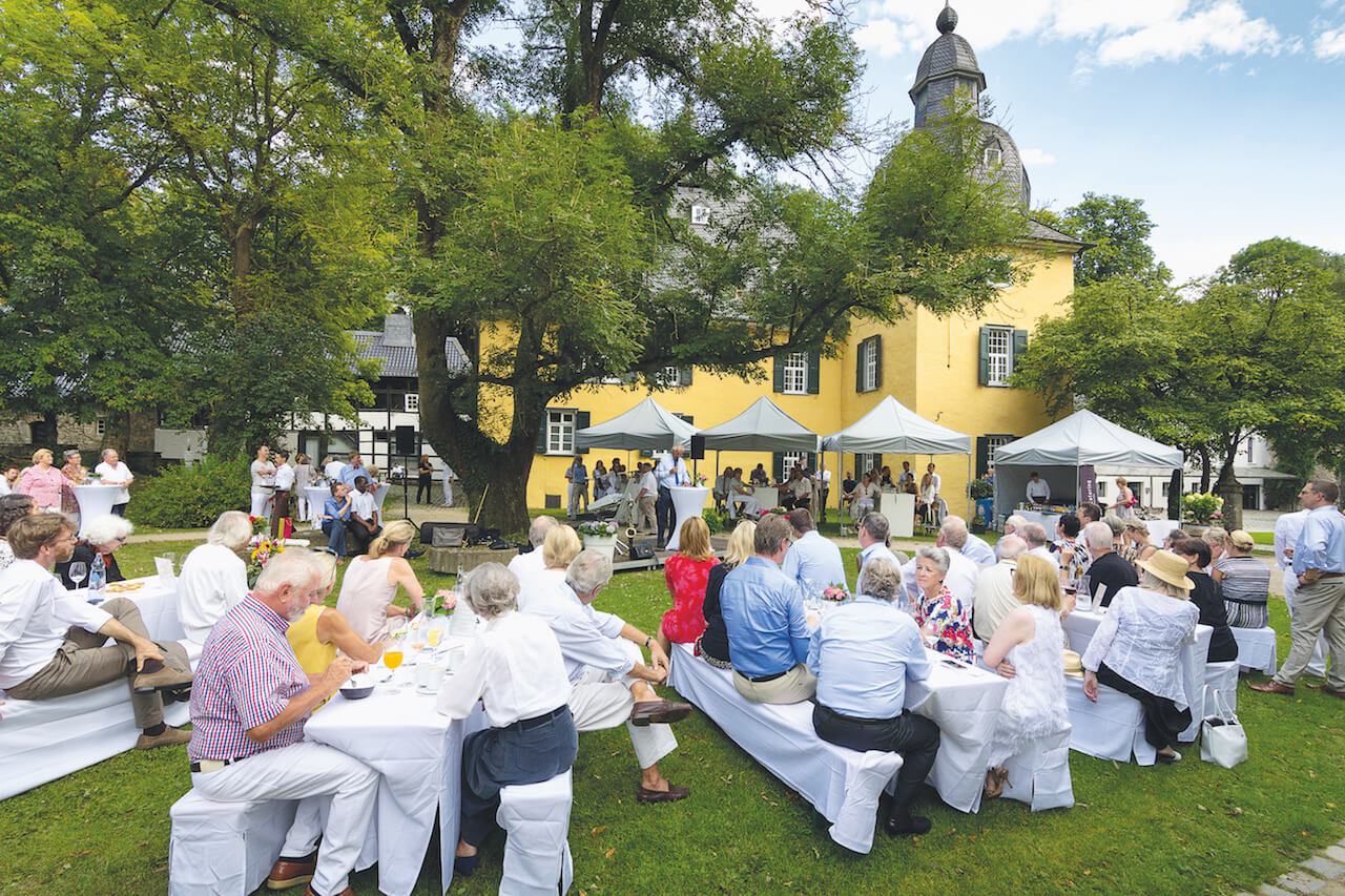 borich location - schloss luentenbeck - eventlocation wuppertal