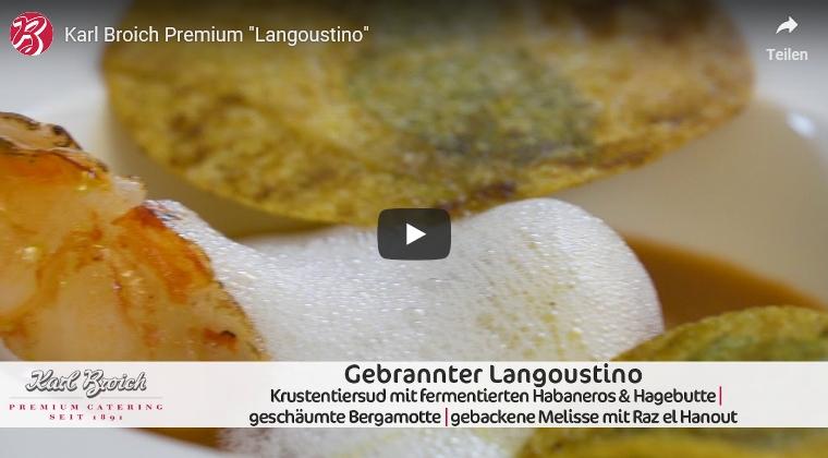 Gebrannter Langoustino   BROICH Catering